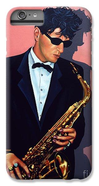 Saxophone iPhone 8 Plus Case - Herman Brood by Paul Meijering