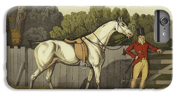 Horse iPhone 8 Plus Case - Hunter by Henry Thomas Alken