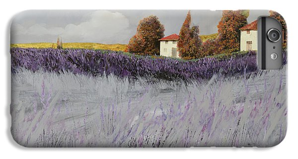 Rural Scenes iPhone 8 Plus Case - I Campi Di Lavanda by Guido Borelli