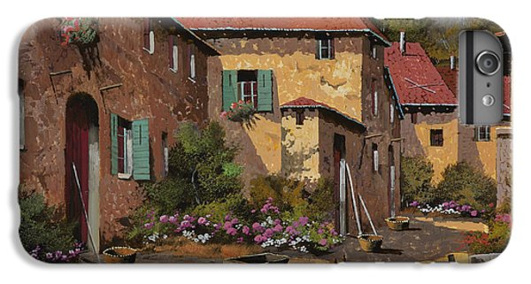 Rural Scenes iPhone 8 Plus Case - Il Carretto by Guido Borelli