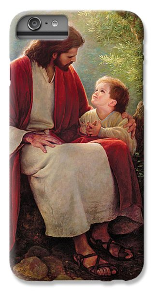 Lord iPhone 8 Plus Case - In His Light by Greg Olsen