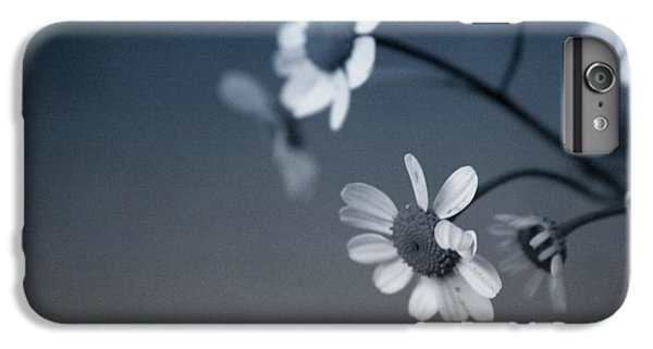 Daisy iPhone 8 Plus Case - Indigo Daisies 2- Art By Linda Woods by Linda Woods