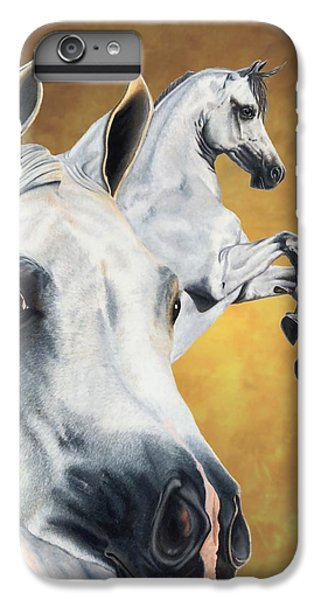 Horse iPhone 8 Plus Case - Inspiration by Kristen Wesch