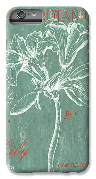 Lily iPhone 8 Plus Case - Jardin Botanique Aqua by Debbie DeWitt