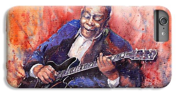 Guitar iPhone 8 Plus Case - Jazz B B King 06 A by Yuriy Shevchuk