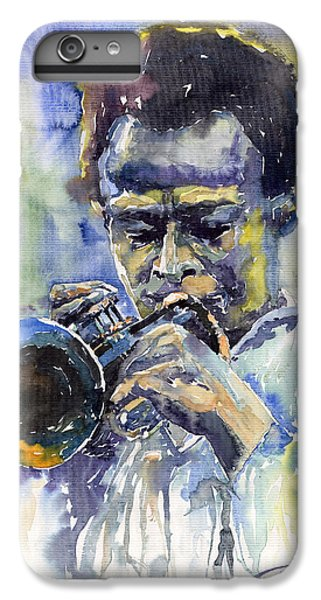 Trumpet iPhone 8 Plus Case - Jazz Miles Davis 12 by Yuriy Shevchuk