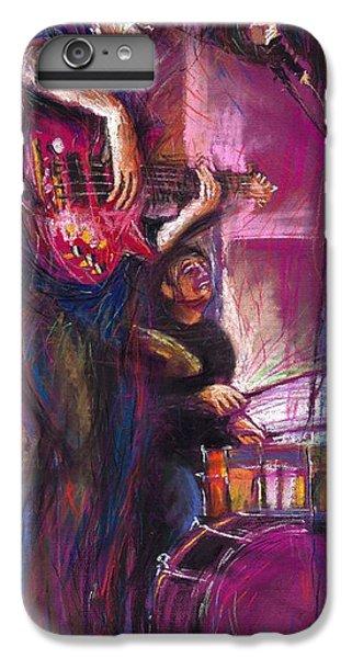 Jazz iPhone 8 Plus Case - Jazz Purple Duet by Yuriy Shevchuk