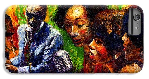 Jazz iPhone 8 Plus Case - Jazz  Ray Song by Yuriy Shevchuk