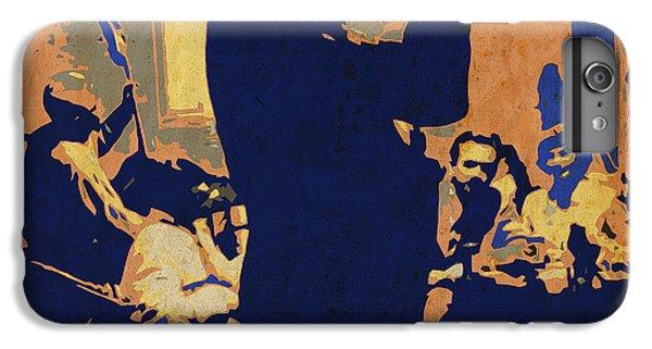 Trumpet iPhone 8 Plus Case - Jazz Trumpet Player by Drawspots Illustrations