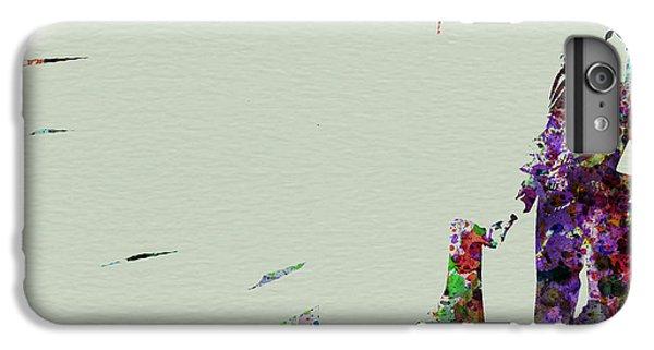 Saxophone iPhone 8 Plus Case - Joe Henderson Watercolor 2 by Naxart Studio