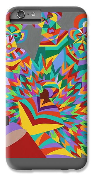iPhone 8 Plus Case - Junkanoo by Synthia SAINT JAMES