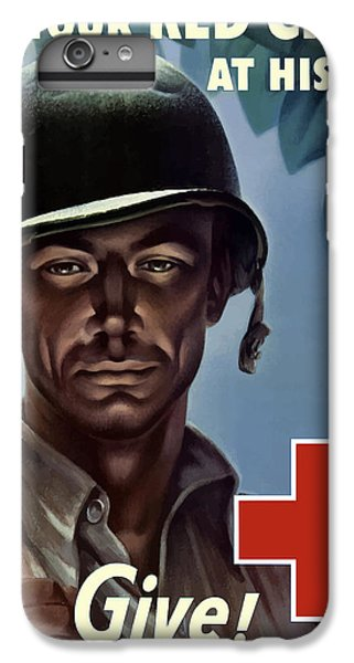 Cross iPhone 8 Plus Case - Keep Your Red Cross At His Side by War Is Hell Store