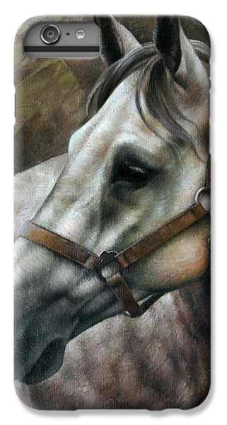Horse iPhone 8 Plus Case - Kogarashi by Arthur Braginsky