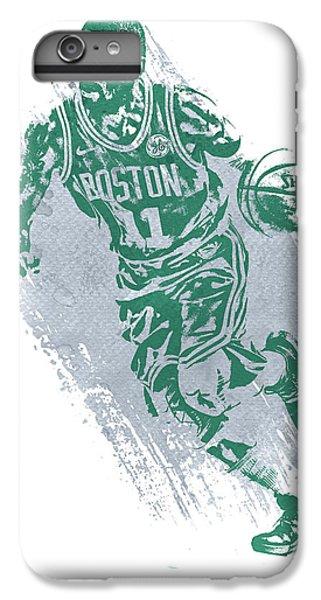 Celtic Cross iPhone 8 Plus Case - Kyrie Irving Boston Celtics Water Color Art 2 by Joe Hamilton