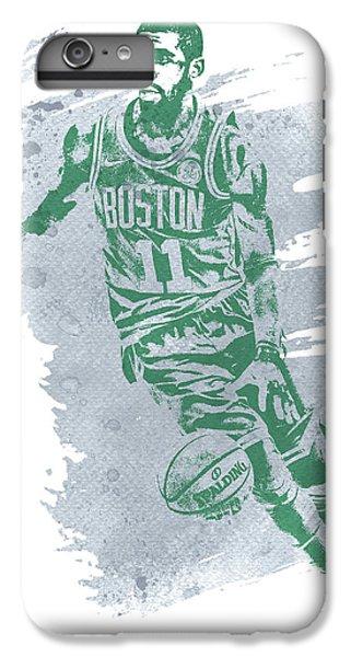 Celtic Cross iPhone 8 Plus Case - Kyrie Irving Boston Celtics Water Color Art 3 by Joe Hamilton