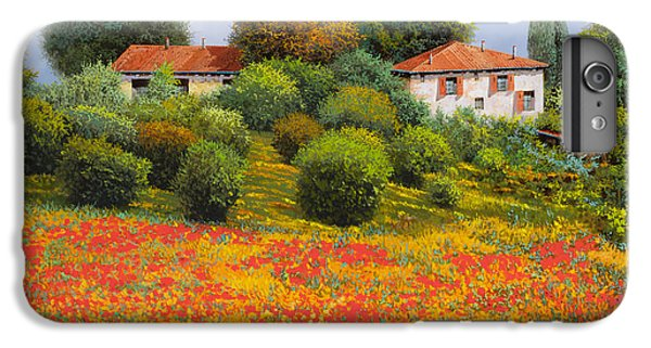 Rural Scenes iPhone 8 Plus Case - La Nuova Estate by Guido Borelli