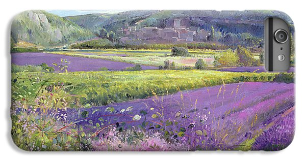 Rural Scenes iPhone 8 Plus Case - Lavender Fields In Old Provence by Timothy Easton