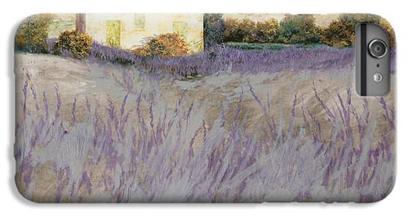Rural Scenes iPhone 8 Plus Case - Lavender by Guido Borelli