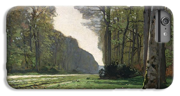 Rural Scenes iPhone 8 Plus Case - Le Pave De Chailly by Claude Monet