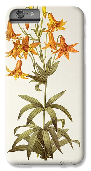 Lily iPhone 8 Plus Case - Lilium Penduliflorum by Pierre Joseph Redoute