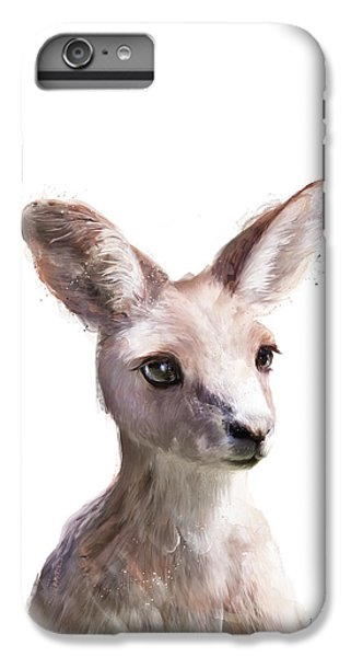 Animals iPhone 8 Plus Case - Little Kangaroo by Amy Hamilton