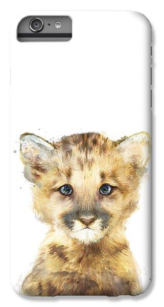 Mountain iPhone 8 Plus Case - Little Mountain Lion by Amy Hamilton