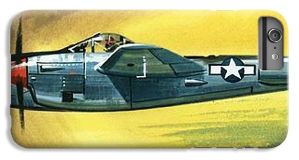 Airplane iPhone 8 Plus Case - Lockheed P-38j Lightning by Wilf Hardy