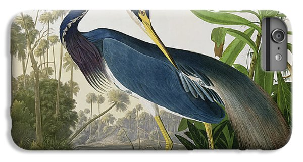 Shrub iPhone 8 Plus Case - Louisiana Heron by John James Audubon
