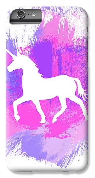 Magician iPhone 8 Plus Case - Magic Unicorn 1- Art By Linda Woods by Linda Woods