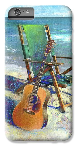 Guitar iPhone 8 Plus Case - Martin Goes To The Beach by Andrew King