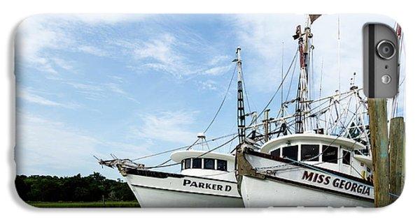 Shrimp Boats iPhone 8 Plus Case - Mc Clellanville Shrimpers by DiFigiano Photography