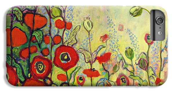 Impressionism iPhone 8 Plus Case - Memories Of Grandmother's Garden by Jennifer Lommers