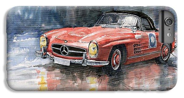 Red iPhone 8 Plus Case - Mercedes Benz 300sl by Yuriy Shevchuk