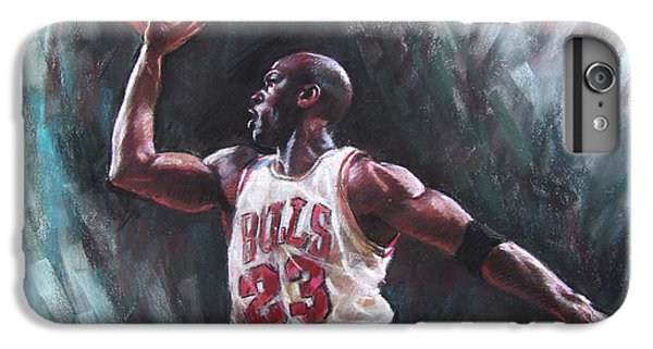 Bull iPhone 8 Plus Case - Michael Jordan by Ylli Haruni
