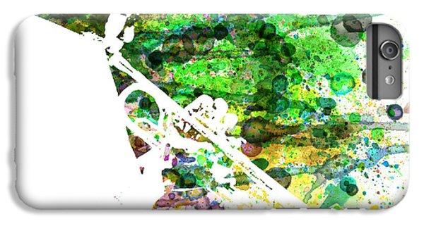 Saxophone iPhone 8 Plus Case - Miles Davis 2 by Naxart Studio