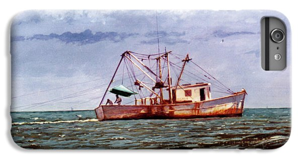 Shrimp Boats iPhone 8 Plus Case - Miss Christy by Randy Welborn