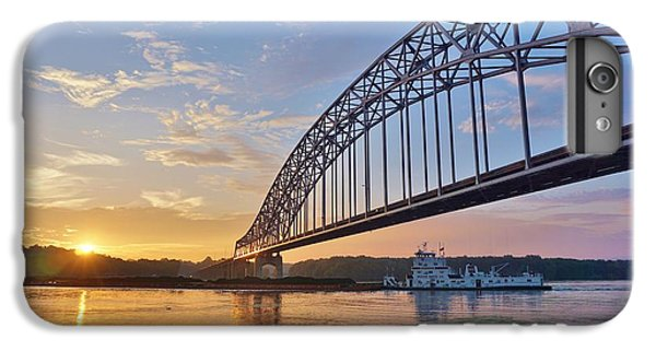 iPhone 8 Plus Case - Mississippi Sunrise Crossing by Red Cross