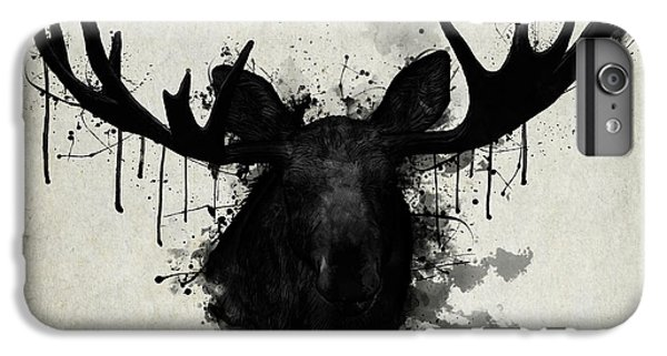 Bull iPhone 8 Plus Case - Moose by Nicklas Gustafsson