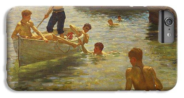 Boat iPhone 8 Plus Case - Morning Splendour by Henry Scott Tuke
