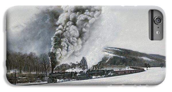 Train iPhone 8 Plus Case - Mount Carmel Eruption by David Mittner