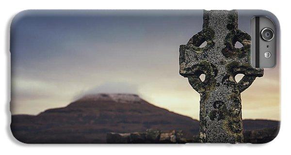 Celtic Cross iPhone 8 Plus Case - Mourning Star by Evelina Kremsdorf