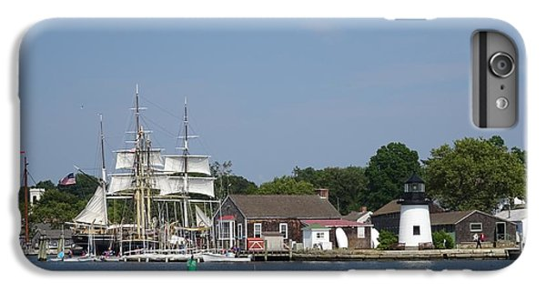 iPhone 8 Plus Case - Mystic Seaport Lighthouse by Red Cross