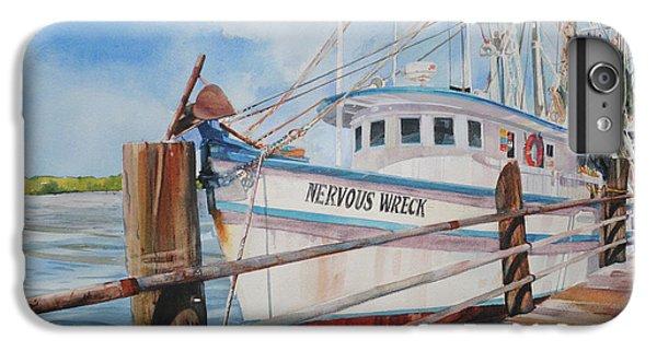 Shrimp Boats iPhone 8 Plus Case - Nervous Wreck by P Anthony Visco