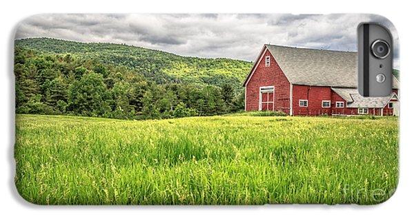 New England Barn iPhone 8 Plus Case - New England Farm Landscape by Edward Fielding