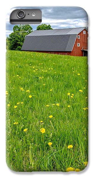 New England Barn iPhone 8 Plus Case - New England Landscape by Edward Fielding