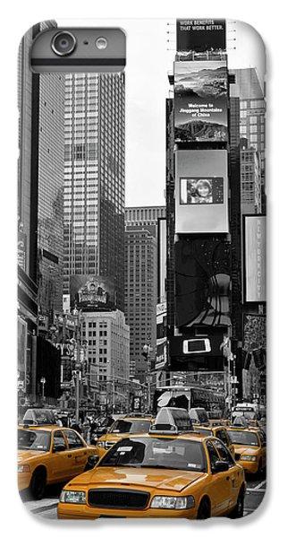 City Scenes iPhone 8 Plus Case - New York City Times Square  by Melanie Viola