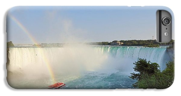 iPhone 8 Plus Case - Niagara Rainbow by Red Cross