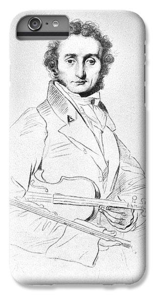 Violin iPhone 8 Plus Case - Nicolo Paganini (1782-1840) by Granger
