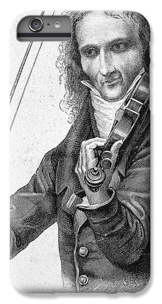 Violin iPhone 8 Plus Case - Nicolo Paganini by Granger