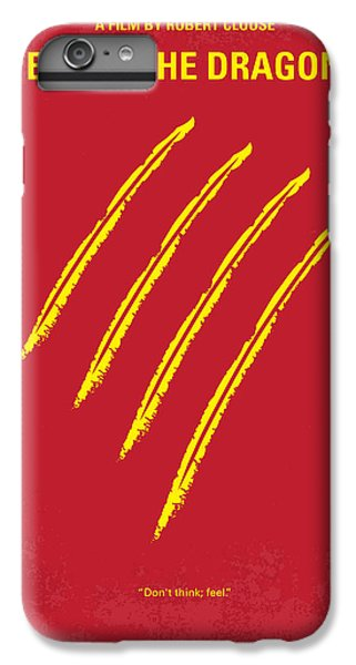Dragon iPhone 8 Plus Case - No026 My Enter The Dragon Minimal Movie Poster by Chungkong Art